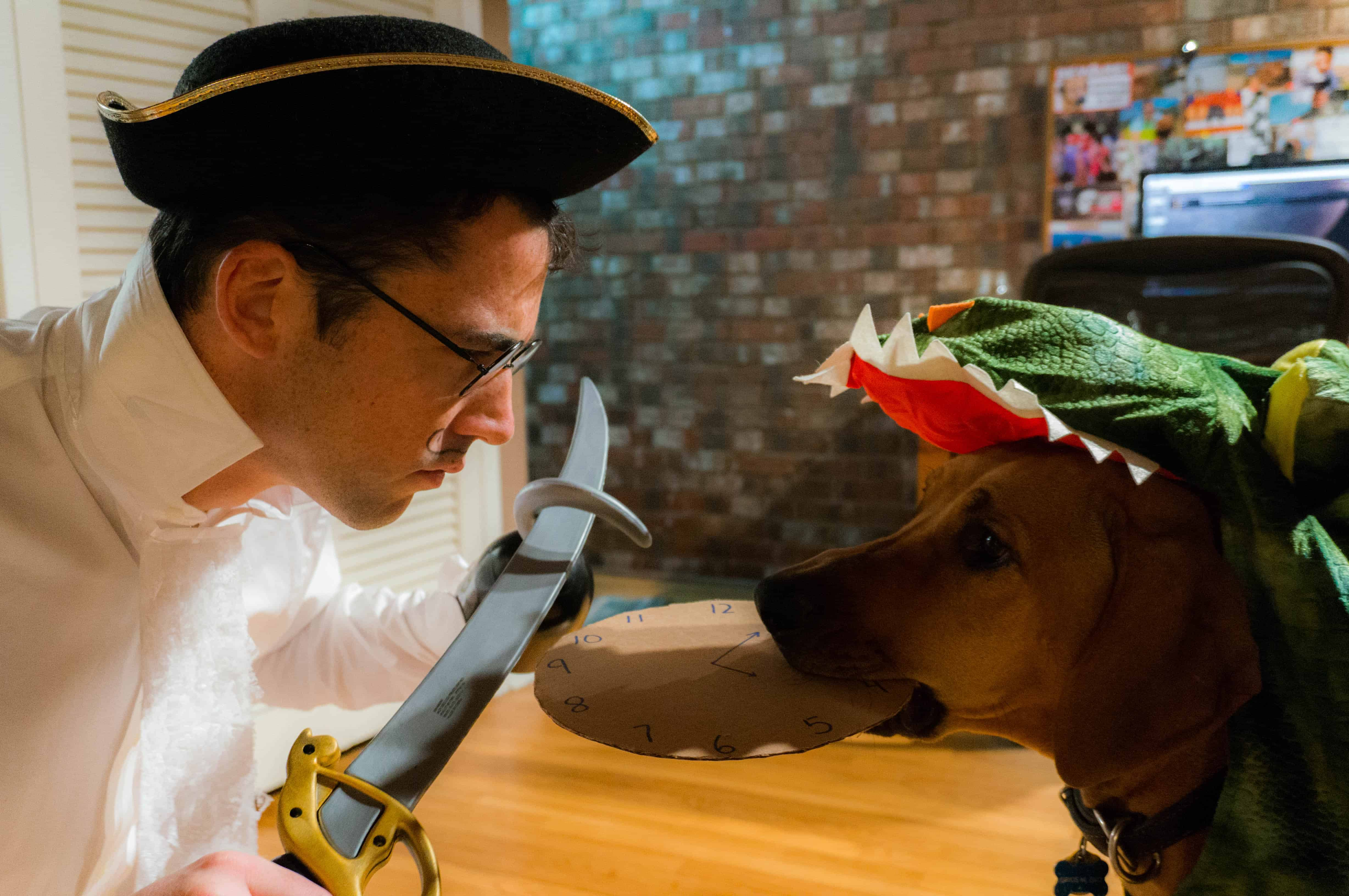 Rhodesian Ridgeback, adventure, chicago, halloween, marking our territory, costume